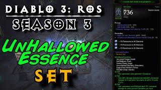 D3 | 2.2 Live Season 3 | New Demon Hunter Set: Unhallowed Essence + Deadman