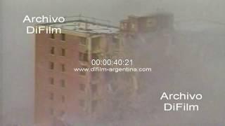 Demolicion de complejo habitacional en la zona oeste de Nueva York 1997
