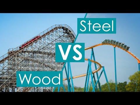 Roller Coasters: Wood VS Steel