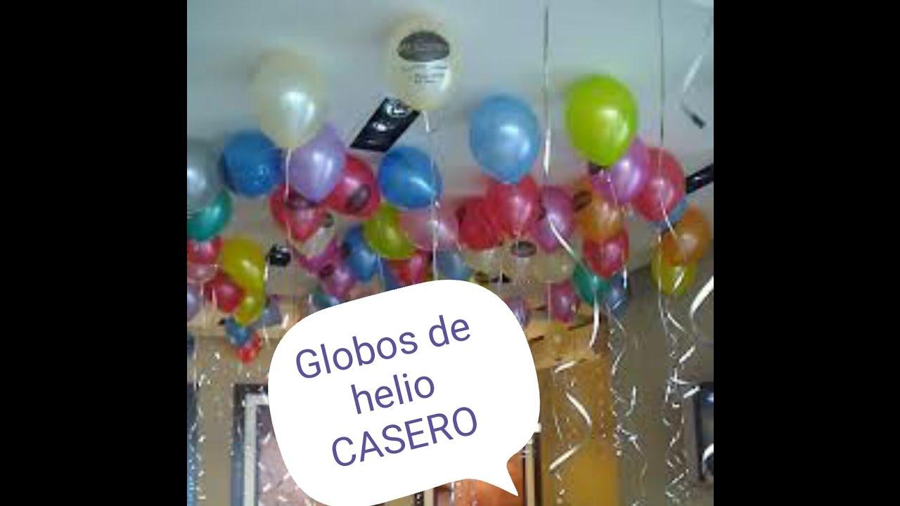 Globo de helio casero 100 efectivo f cil 2016 youtube - Helio para inflar globos barato ...