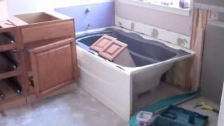 Bathroom And Closet Remodel
