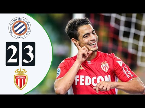 Kevin Volland Goal | Montpellier VS Monaco 2-3 | Resumen Ligue 1 France 2021