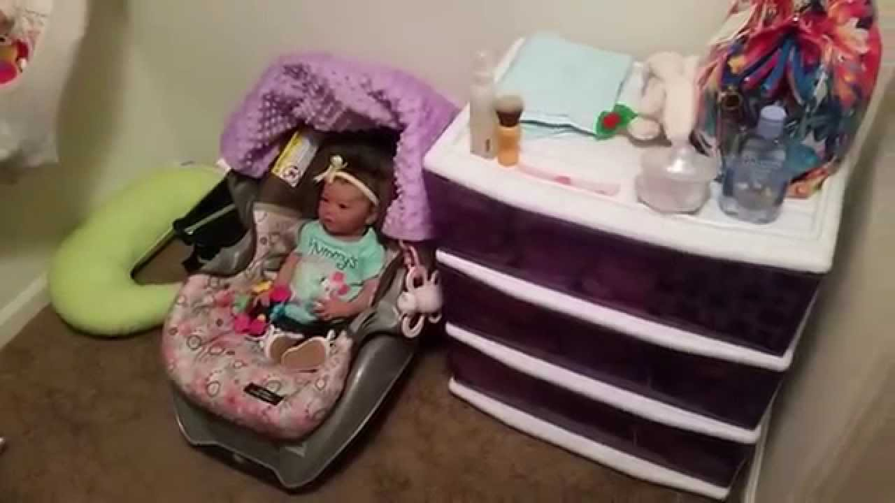 New Reborn Nursery Set Up Youtube