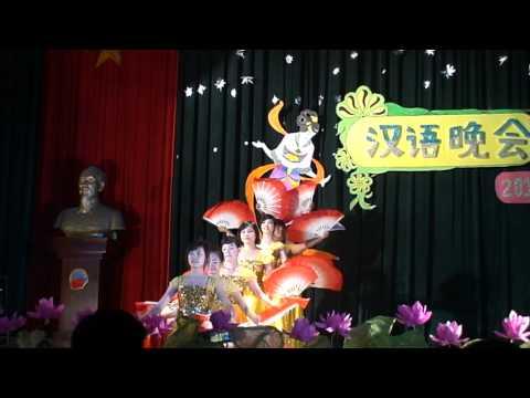 """Múa """"Như ý cát tường"""" - CT36H - Đêm hội Hán ngữ 2011, DAV"""