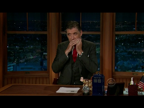 Late Late Show with Craig Ferguson 7/16/2012 Julie Chen, Chris Messina