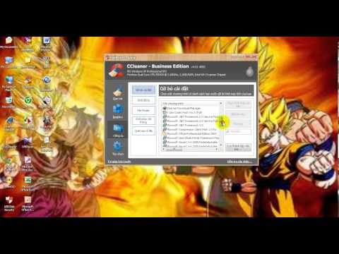Phần mềm dọn rác tốt nhất cho máy tính PC, LapTop. 2013