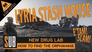 """[Obsolete PTV3] How to Find The Lyria Stash House """"The Orphanage"""" Drug Lab - Star Citizen 3.5"""