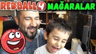 REDBALL 4 MAĞARALAR DEVAM! | KIRMIZI TOP OYNUYORUZ