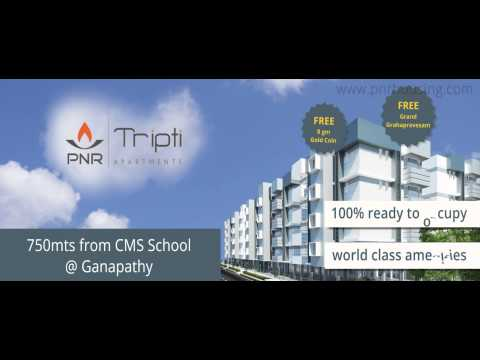 Buy Flat in 2015 & pay in 2016 @ Ganapathy,Coimbatore