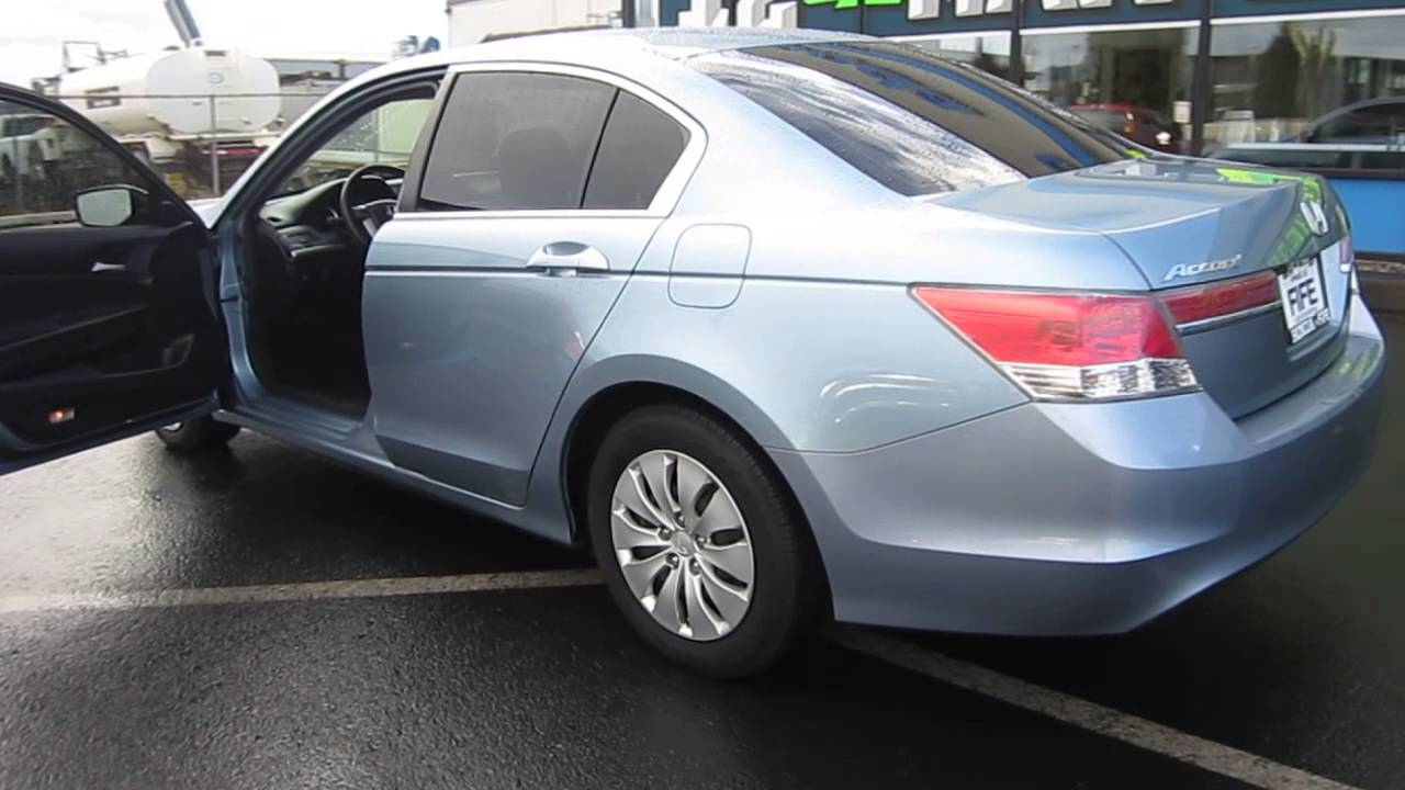 2011 Honda Accord Celestial Blue Metallic Stock 731440