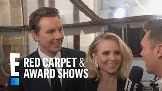 Kristen Bell & Dax Shepard Get Cute at 2017 Golden Globes | E! Live from the Red Carpet