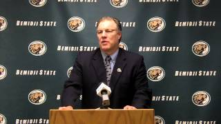 2013 Bemidji State Football Signing Day Opening Statement (2/6/13)