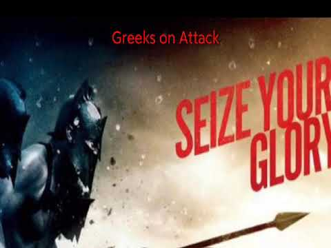 300 Rise Of An Empire OST - Greeks On Attack