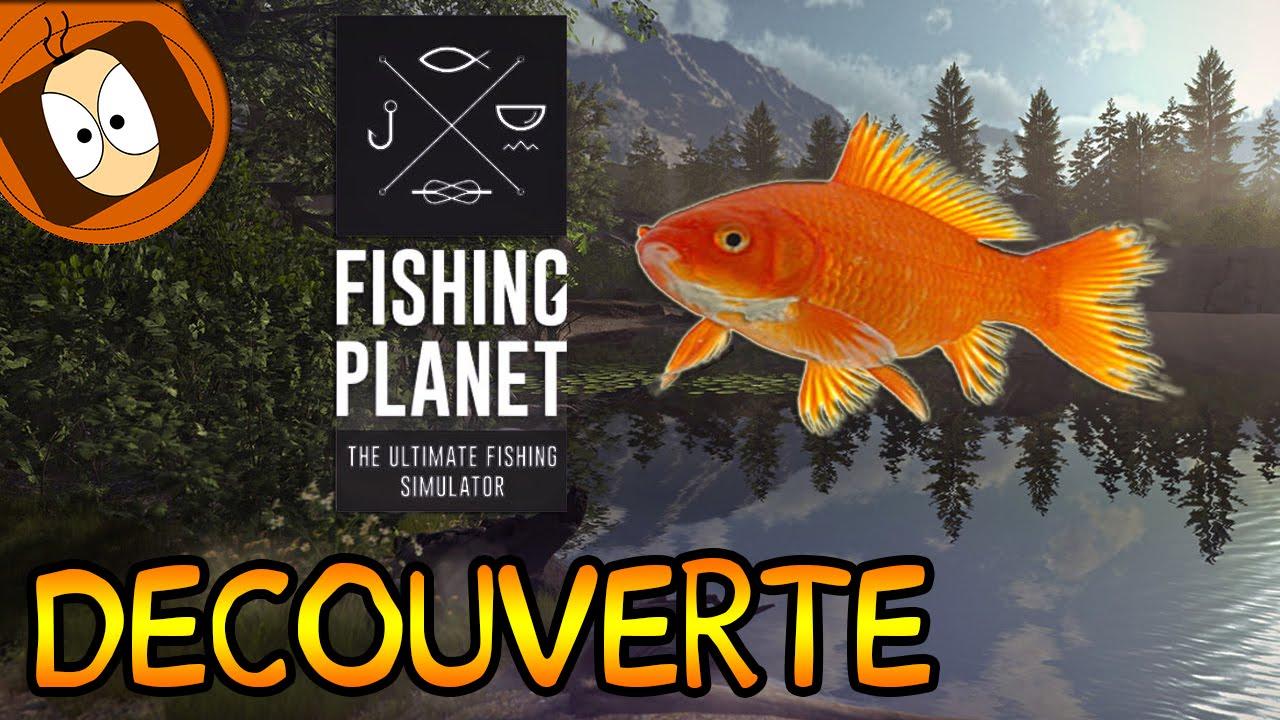 D couverte fishing planet un simulateur de p che en for Simulateur de cuisine en ligne