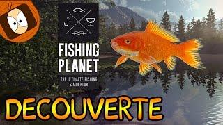 DÉCOUVERTE |  FISHING PLANET : UN SIMULATEUR DE PÊCHE EN LIGNE GRATUIT !