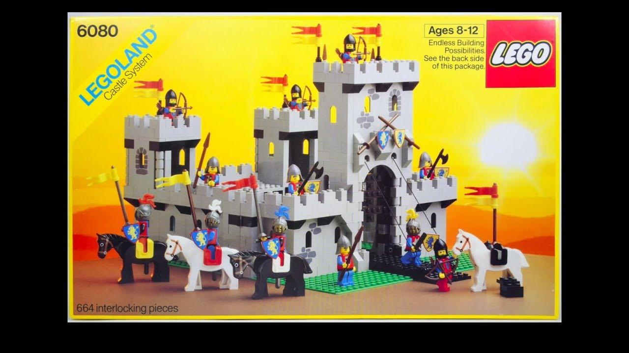 Lego 6080 Kings Castle Speed Build Youtube