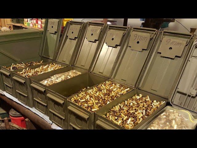 Ammo Storage Solutions & Reloading Shop Organization. NEW! WATCH! by Eddy Coleman, Gilmer, Texas