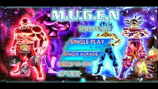 Dragon Ball Z Mugen Apk For Android || Bleach Vs Naruto DBZ Mugen BVN Mod Apk DOWNLOAD