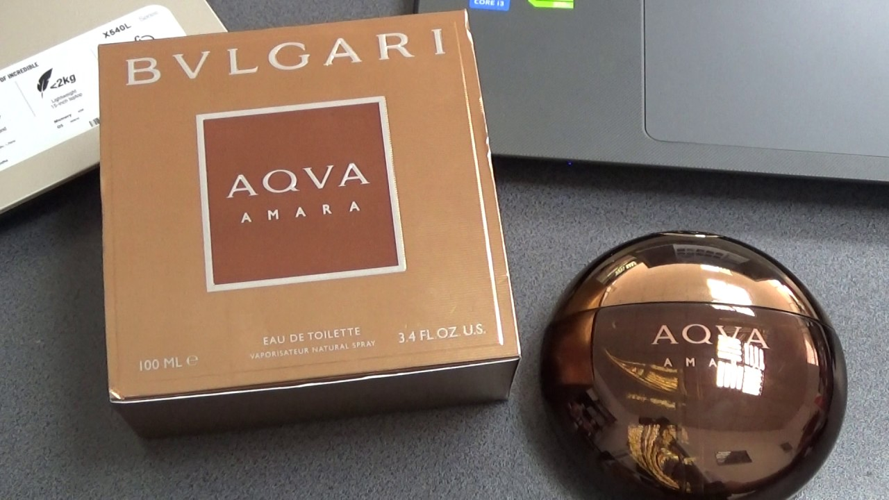 1e743351043 Bvlgari Aqva Amara - Fragrance Review - YouTube