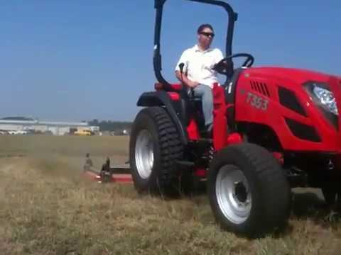 трактор TYM 353 косилка