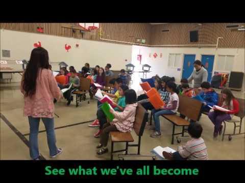 Harvey Green Elementary School Choir 2017