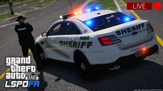 GTA 5 LSPDFR LIVE - Day 109 | Pasco County Sheriff's Office | LSPDFR Realistic Patrol #LivePD 🚔
