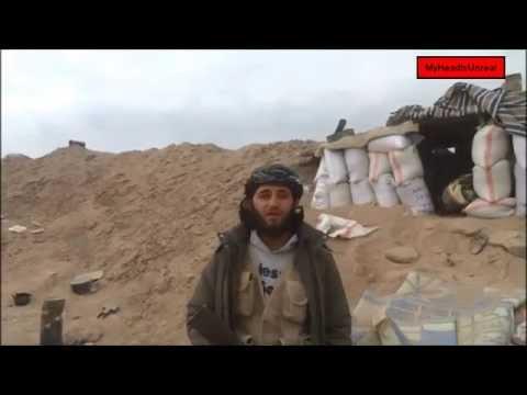 Yihadista Ahmad Abu Hamza le impacta un misil./Yihadista Ahmad Abu Hamza killed by missile.