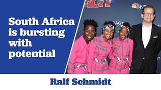 Gambar cover Ralf Schmidt believes that South Africa is Bursting with Potential