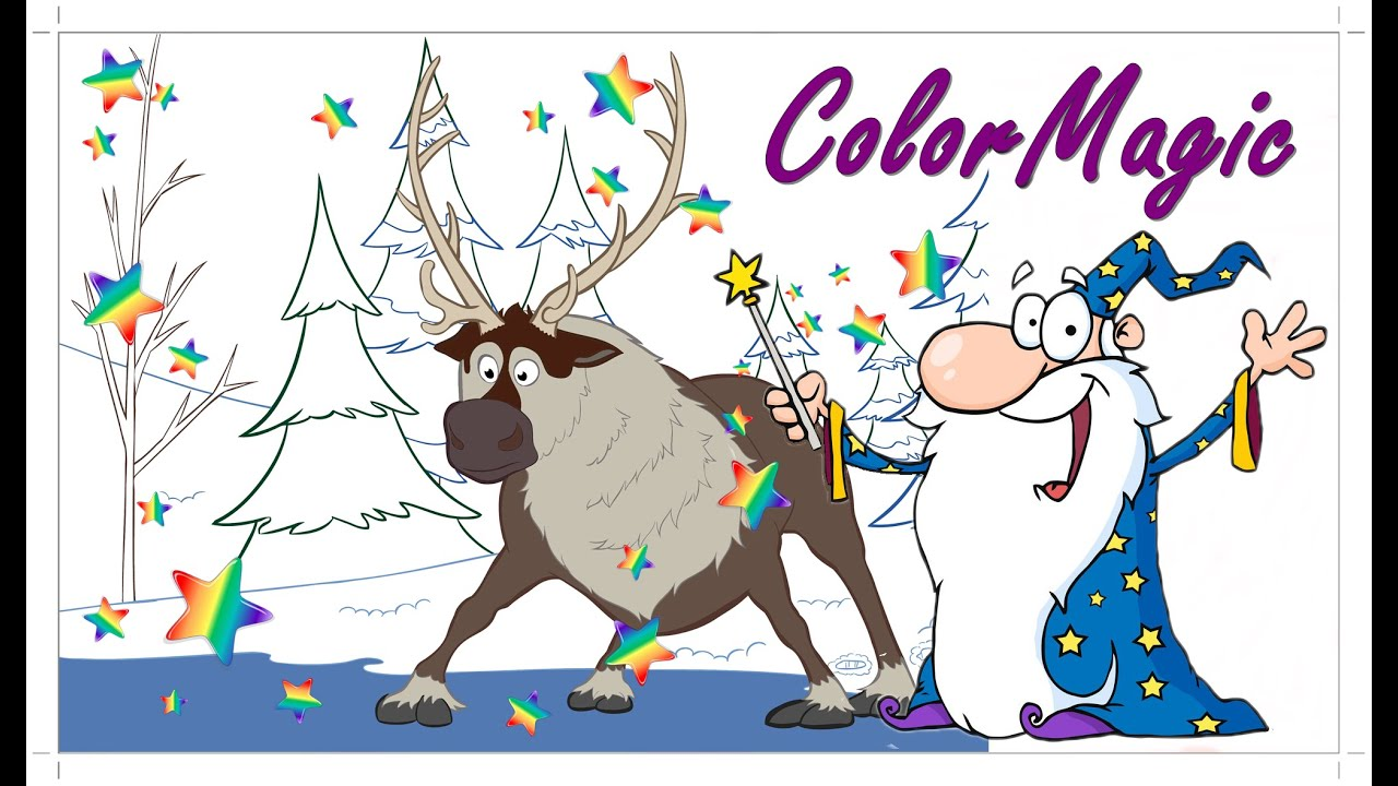 Lets Color Sven On Ice From Frozen