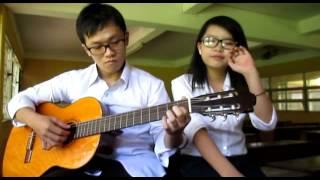 NGÂY NGÔ Guitar cover ( Quỳnh Pikachu & Hải Lê )