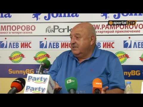 Благой Георгиев няма да се връща в Славия