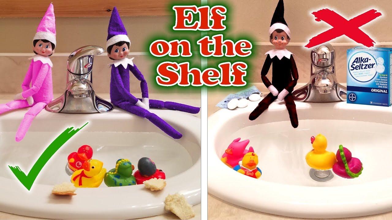 Purple & Pink Elf on the Shelf - Good Elves vs Evil Elf ... - photo#26