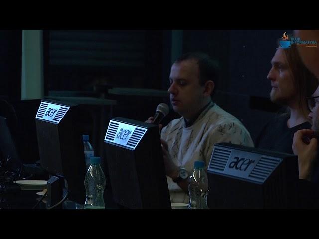 Klub Informatyka PTI. AI w grach - dyskusja.
