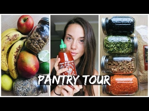 Whats in My Pantry & Fridge as a High Carb VEGAN...