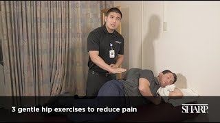 3 Stretches to Reduce Hip Pain Video