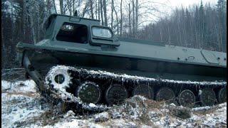 Сезон 2015 № 10/11 Томская обл. ( Чисто танки. МТЛБ )