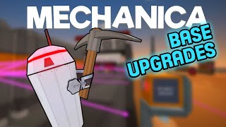 Mechanica Gameplay - Base Upgrades - Let's Play