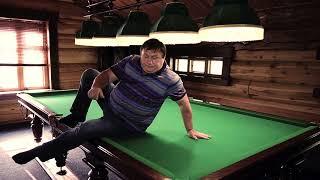 Челентано: отжимание на бильярдном столе.