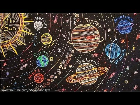 Universe Art Project Ideas
