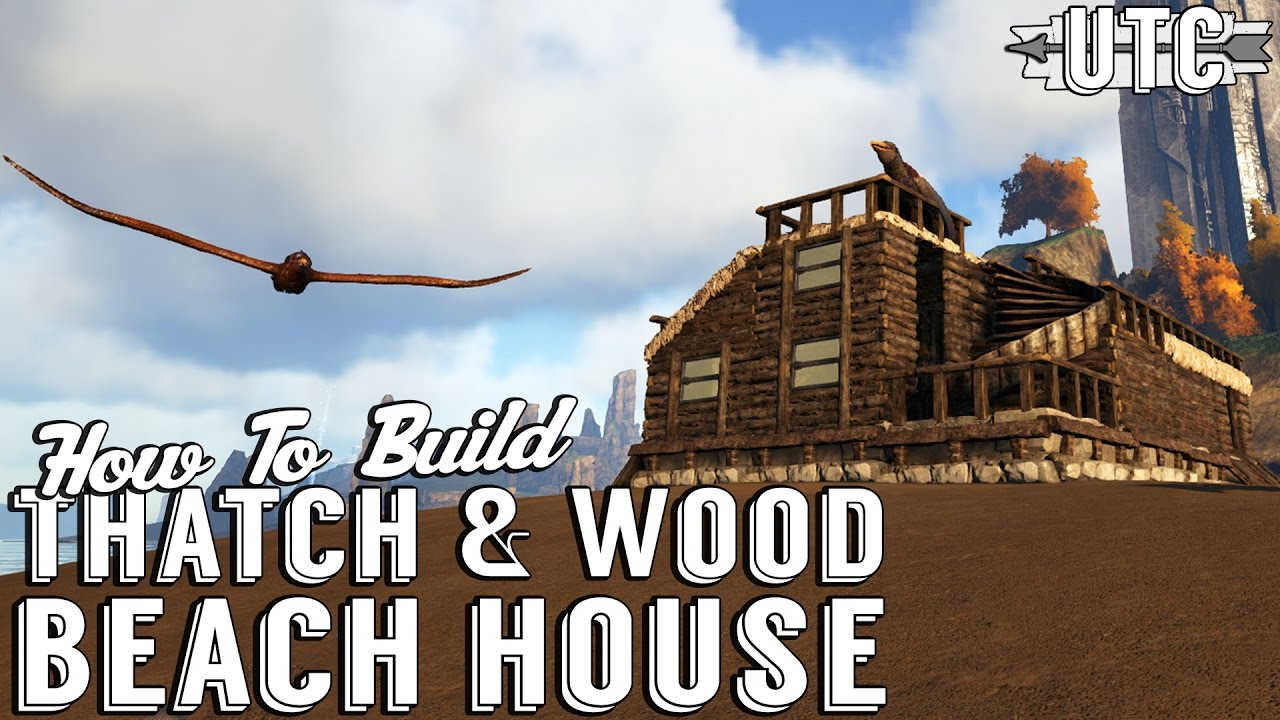 Ark building tutorial how to build a thatch and wood house in ark ark building tutorial how to build a thatch and wood house in ark the center unitetheclans youtube malvernweather