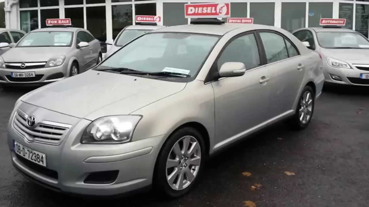2008 toyota avensis 2 0 d4d youtube. Black Bedroom Furniture Sets. Home Design Ideas