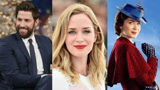 When John Krasinski First S.aw Emily Blunt As Mary Poppins, His Reaction Was Utterly Heartwarming