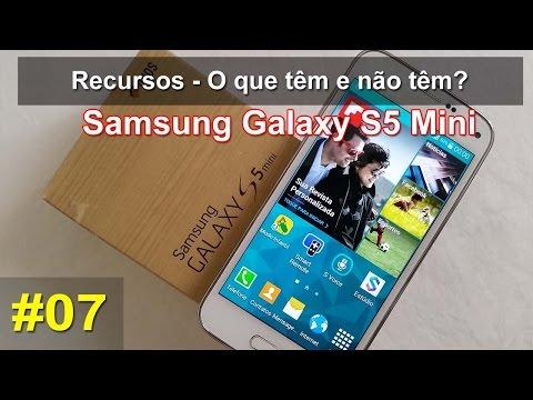 Samsung Galaxy S5 Mini - O que têm e não têm? Recursos - Português