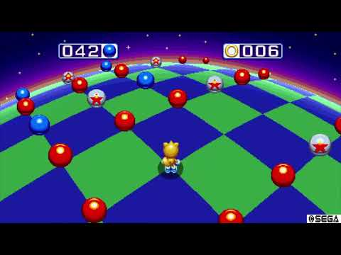 Sonic Mania Hard Blue Sphere Special Stage - Easy Way, Hard Way... & The Easy Way Again. |