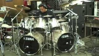 Nightmare by Avenged Sevenfold Drum Cover by Myron Carlos version 2 - improved sound quality