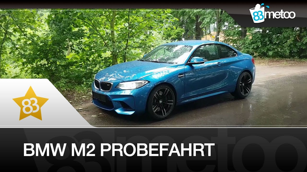 bmw m2 probefahrt test bmw m2 auspuff exhaust sound. Black Bedroom Furniture Sets. Home Design Ideas