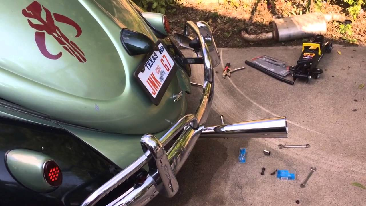 Vw Bug Stinger Exhaust Cc With Cam