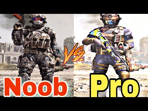 Noob Vs Pro In Call Of Duty Mobile #1 Noob play vs pro Play