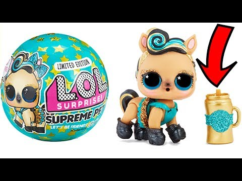 LOL Surprise Supreme Pets Lil Lucky Luxe Dolls Toys   Play Video