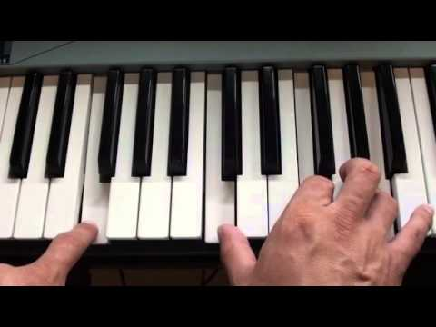 How To Play All I Want By Kodaline On Piano Youtube